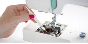 Manutenção de uma máquina de costuras